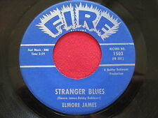 ELMORE JAMES ~ STRANGER BLUES / ANNA LEE ~ FIRE 1503 ~ RARE R&B BLUES 45