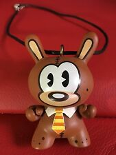 "Kidrobot Original Dunny Doll Teddy Bear Pendant on cord 3"" High Cosplay Anime"