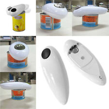 One Touch Automatic Electric Tin Can Opener Bottle Tin Can Open Tool Kitchen US