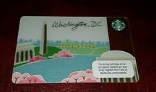 First Washington DC Starbucks Card