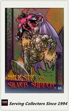 1997 Marvel VS Wildstorm Trading Cards Clear Chrome A4 Majestic VS Silver Surfer