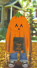 Stuff a Pumpkin Jack-o-Lantern Leaf Bag Halloween Home Inddors Outdoor Decor
