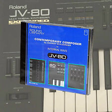 Roland PN-JV80-05 Contemporary Composer Sound Rom card JV80/1080/2080 NEW!