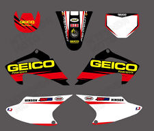 TEAM GRAPHICS BACKGROUNDS 4 HONDA CRF150 CRF230 CRF150F CRF230F 2003 04 05 06 07