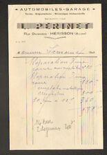 """HERISSON (03) GARAGE AUTOMOBILE """"L. PERINET"""""""
