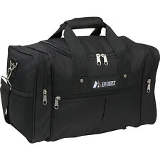 "Everest 17.5"" Travel Gear Bag - Black All Purpose Duffel NEW"