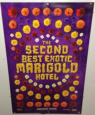 Original Movie Poster Keep The Second Best Exotic Marigold Hotel DS 27x40
