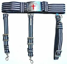 KNIGHTS TEMPLAR Sword Belt & Buckle for Sir Knight  Waist Size 40