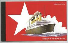 ALDERNEY 2012 £12.36 SINKING OF THE TITANIC BOOKLET ASB21