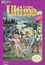 Nintendo NES Game Cartridge ULTIMA EXODUS