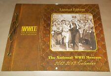 WWII  Wall Calendar The National WWII Museum, 2012-13 New Orleans La