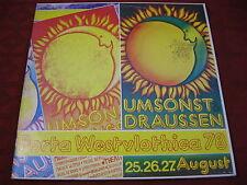 2 LP PORTA WESTFLOTHICA 1978 Umsonst & Draussen MUSIKERINITIATIVE OSTWESTFALEN