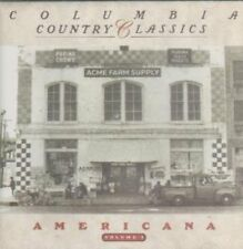 Columbia Country Classics 3-Americana (1990) Fess Parker, Johnny Cash, Ma.. [CD]