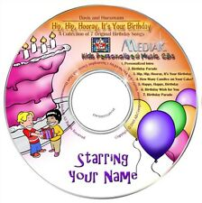HIP HIP HOORAY IT'S YOUR BIRTHDAY  Personalised Music CD