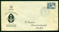 NETHERLANDS #331 10¢ Mining Official FDC, VF, NVPH $125.00