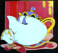 MRS. POTTS -LITHOGRAPH W / SUPER JUMBO PIN- BEAUTY AND THE BEAST - ACME LE 100