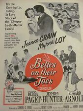 Belles On Their Toes, Debra Paget, Full Page Vintage Promotional Ad