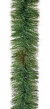 5 Metre Chunky Green Tinsel Decorating Garland Professional Christmas Display