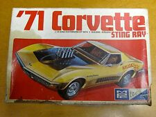 MPC 1971 CHEVROLET CORVETTE STING RAY MODEL KIT JUNKYARD/PARTS KIT #7105-200