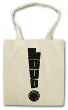 LOUD SHOPPER SHOPPING BAG Music Dance Techno Electro Exclamation mark Chillout