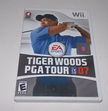 Tiger Woods PGA Tour 07 (Nintendo Wii, 2007)