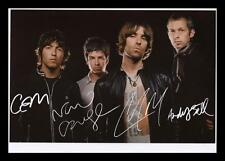 OASIS AUTOGRAPHED SIGNED & FRAMED PP POSTER PHOTO