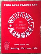 Auction catalogue WEI HAI WEI Postal History PADGET Collection China covers pmks