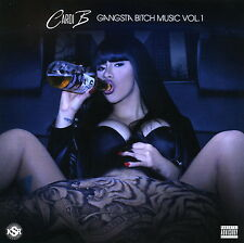 CARDI B Gangsta B!tch 2016 (Mix CD) Official Limited Edition Collector's Mixtape