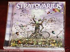 Stratovarius: Elements Pt 2 CD 2003 Part Two II Nuclear Blast USA NB 1176-2 NEW