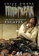 CRISS ANGEL: MINDFREAK - MOST MEMORABLE MINDFREAK - DVD - Region 1 - Sealed