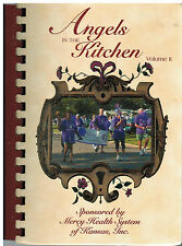 *INDEPENDENCE KS 2002 ANGELS IN THE KITCHEN II COOK BOOK *RELAY FOR LIFE *KANSAS