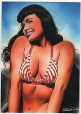 Bettie Page Private Collection Box 2 BP21-UK Promo Card UK Distribution