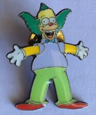 Krusty The Clown Simpsons Pin Badge Collectable (E6)