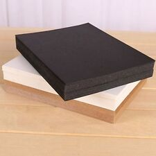 20 Sheets Black Thick DIY Blank Post Greeting Card Double-sided Sketch Doodle #U