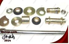 Royal Enfield Brand New 14 Pcs Complete Rear Wheel Spindle Kit
