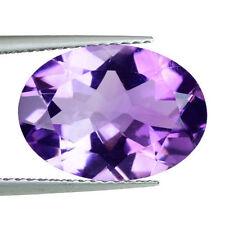 10x8mm-ovale sfaccettatura Light-viola naturale Brasiliano gemma AMETISTA £ 1 NR!