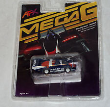 AFX #70300 Mega G PORSCHE 962 #17 RACER  HO scale slot car blue & red