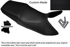BLACK STITCH CUSTOM FITS HONDA 89-97 CBR 1000 F DUAL LEATHER SEAT COVER