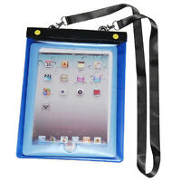 Waterproof Case Cover Pouch Protector Neck Strap for Apple iPad 1,2,3,4,Mini New