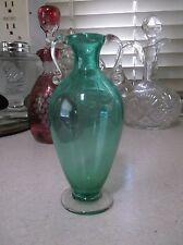 Tiny Vittorio Zecchin Soffiato Murano glass amphora vase