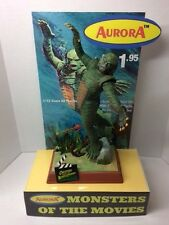 AURORA THE CREATURE FROM BLACK LAGOON MONSTER  MODEL STORE DISPLAY BASE ONLY