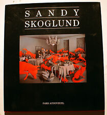 PHOTOGRAPHIE/SANDY SKOGLUND/CATALOGUE/PARIS AUDIOVISUEL/1992