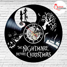 Jack Skellington and Sally Nightmare Before Christmas Love Home Wall Clock in US