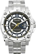 Bulova Men's Precisionist 96B131 Black Stainless-Steel Quartz Watch