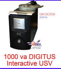 1000 VA ALIMENTAZIONE INTERATTIVO GRUPPO DI CONTINUITÀ UPS DIGITUS DN-170021
