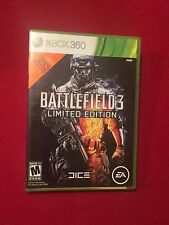 Microsoft XBox 360 Video Game Battlefield 3 Limited Edition Rated M