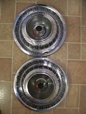 "1969 PLYMOUTH SPORT FURY 15"" HUBCAPS 1970"
