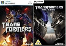 Transformers LA VENDETTA DEL CADUTO & TRANSFORMERS THE GAME