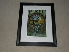 "Framed Watkins Glen 1973 Summer Jam Mini-Poster Grateful Dead 14""x17"""