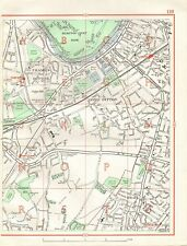 1964  VINTAGE STREET MAP - THAMES DITTON, LONG DITTON, HOOK